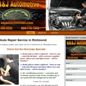 BB & J Auto Repair in Chester VA