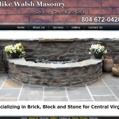 Mike Walsh Masonry Richmond Virginia