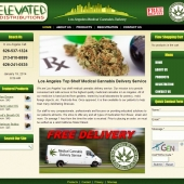 FREE Cannabis Delivery Los Angeles Web Design