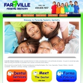 Farmville Pediatric Dentistry Web Design