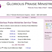 Glorious Praise Ministries Richmond VA