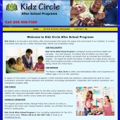 Web Design for Pre School Day Care Child Care