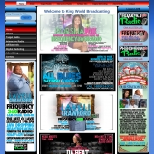 King World Radio Company Web Design