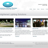 Re-Design Upgrade for Lighting Company
