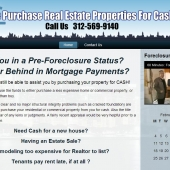 Real Estate Properties in Chicago Web Design