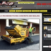 Web Designer for Asphalt Paving and Concrete Companies