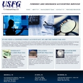 USFG Forensic and Insurance Accounting Web Design