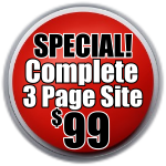 99 Dollar Web Design Special