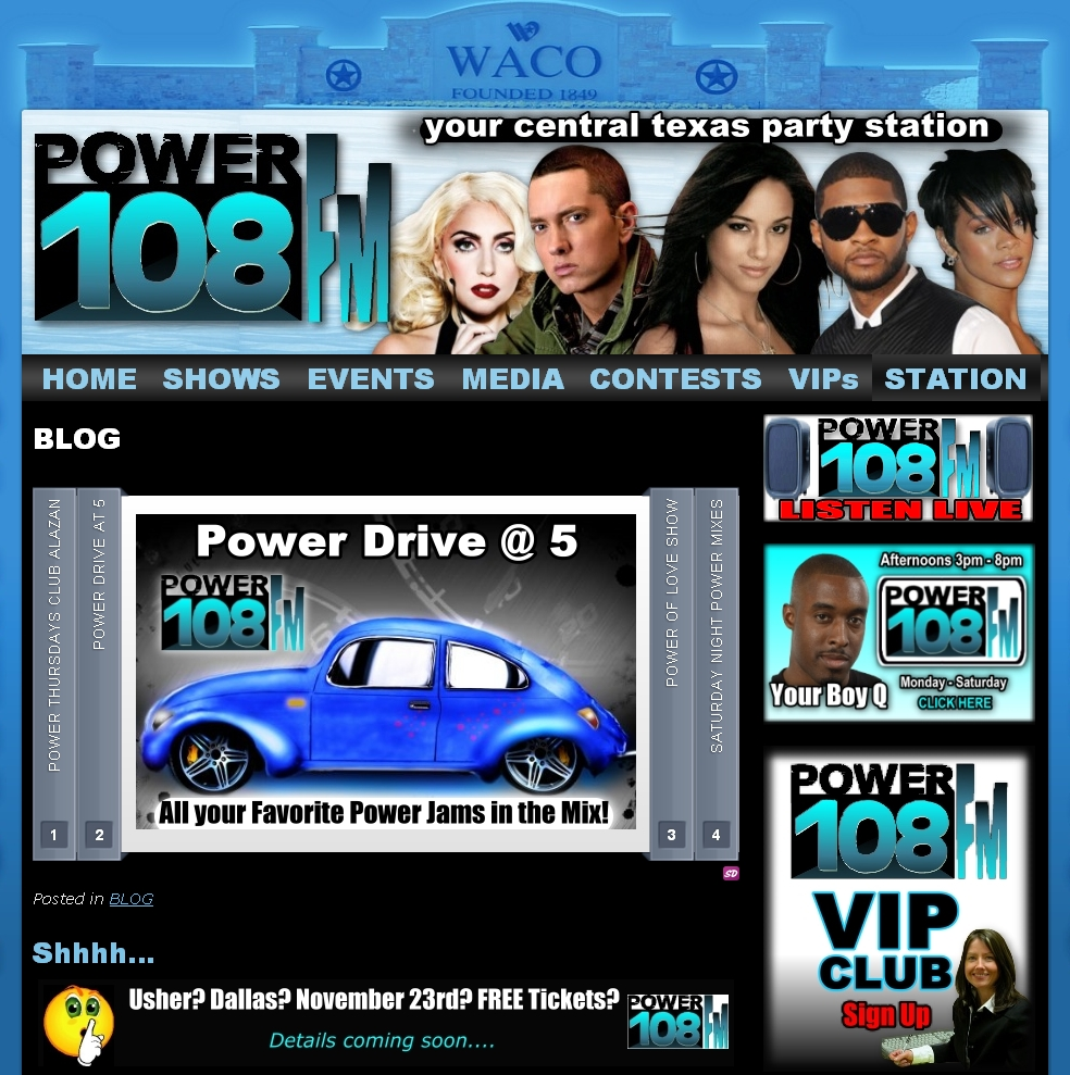 radio station website