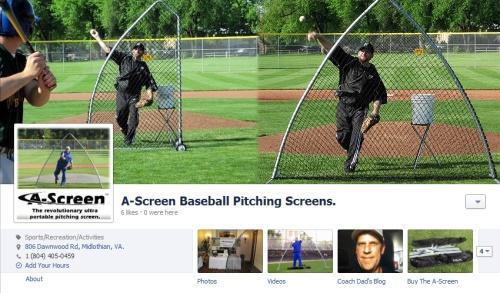 A-Screen Baseball Screen Fanpage