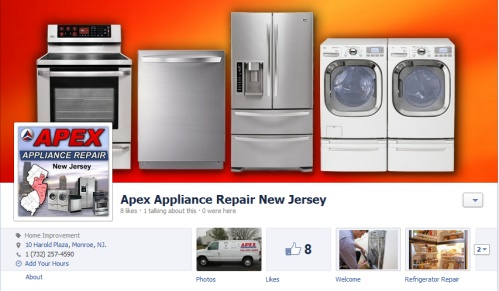Apex Appliance Repair New Jersey Fanpage