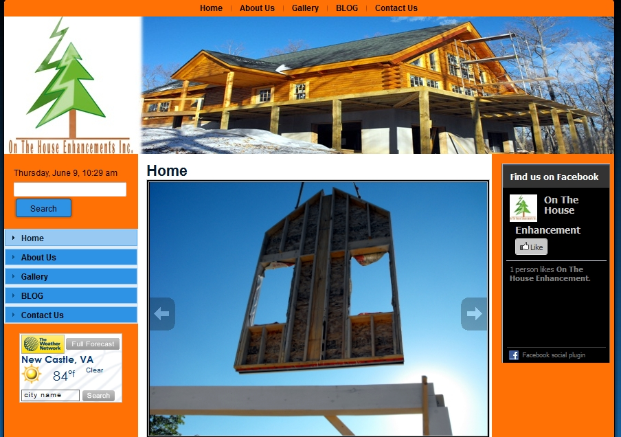 construction web designs
