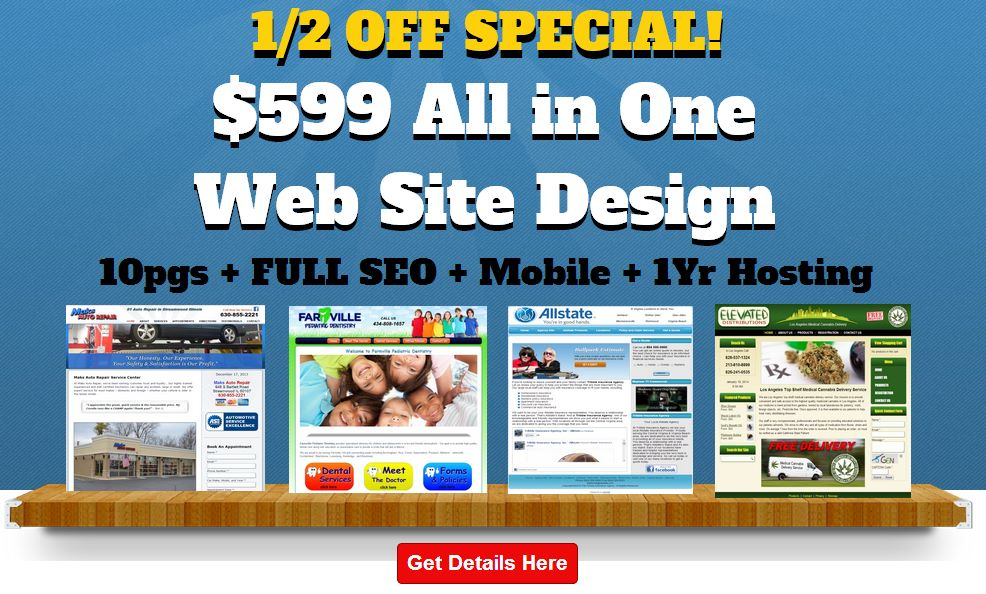 All in One Web Design and SEO