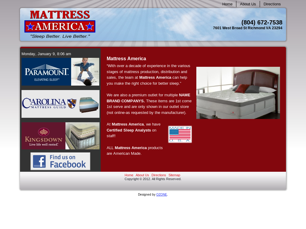 Mattress America Beds Mattresses Boxsprings