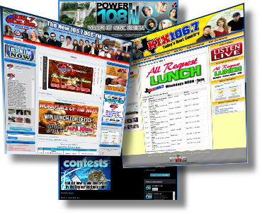 Radio Station Web Design $499