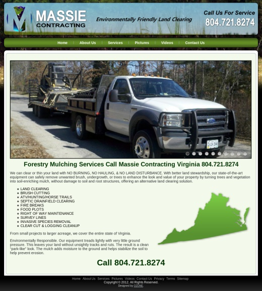 Environmentally Friendly Land Clearing Virginia