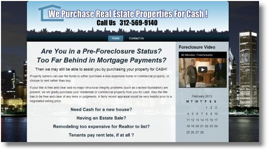 Cash for Real Estate Properties Chicago
