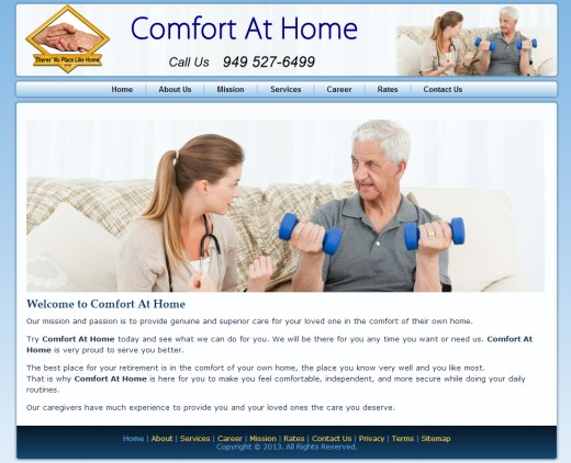 Comfort at Home Care Laguna Hills CA