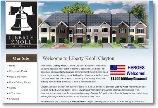 Liberty Knoll Homes Clayton Delaware