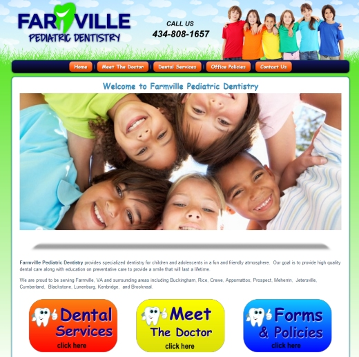 Affordable SEO Web Design for Pediatric Dentistry