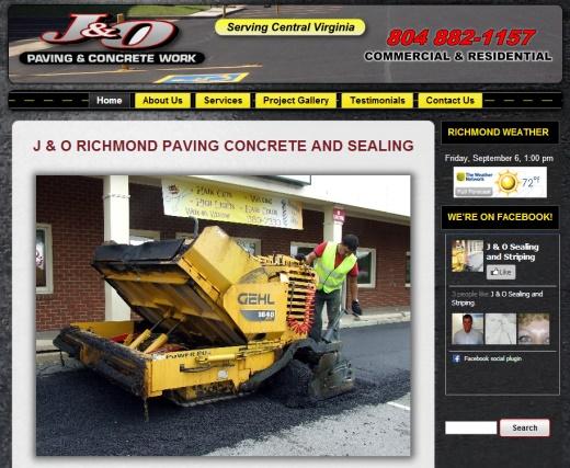 Richmond Asphalt Paving and Concrete Richmond VA Web Designer