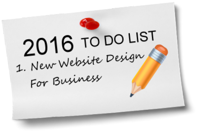 2016 web design to do list