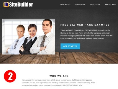 Free Web Page Design Demo2