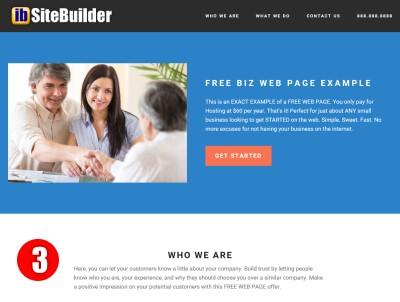 Free Web Page Design Demo3