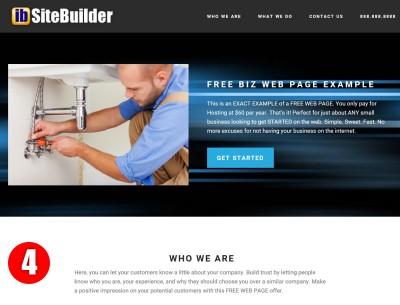 Free Web Page Design Demo4