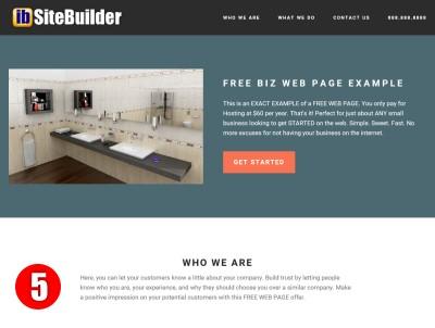 Free Web Page Design Demo5