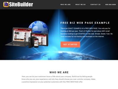 Free Web Page Design