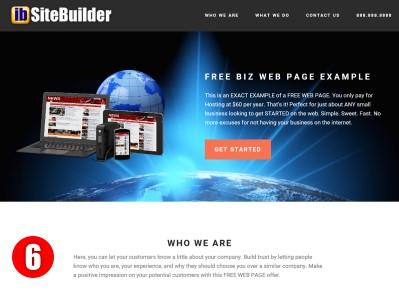 Free Web Page Design Demo6