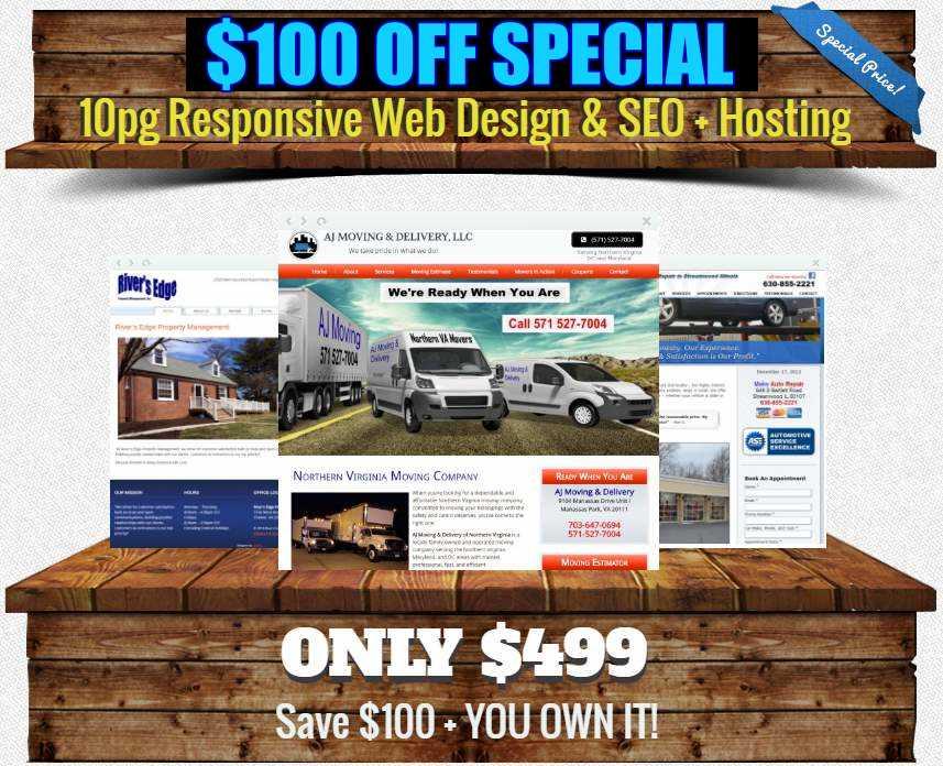 Web Design Under 500 Dollars