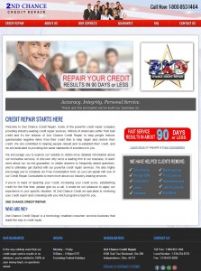 Credit Repair Web Design
