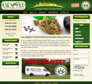Clinical Marijuana for Sale web design