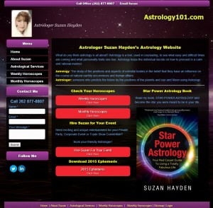 Astrology Horoscopes WEb Design